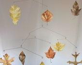 Fall Leaf Baby Crib Mobile
