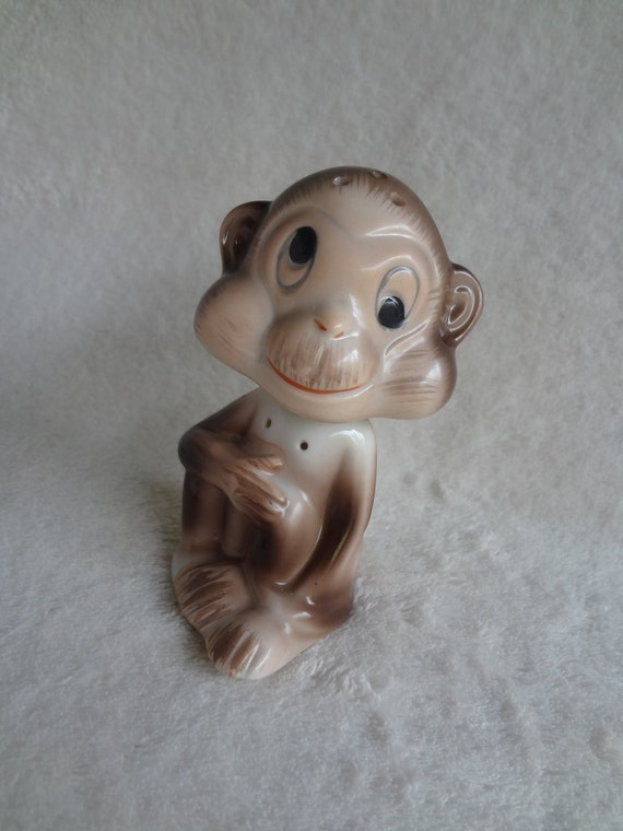 Rare Vintage Monkey Salt and Pepper Shaker