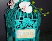 Wedding Bird cage Card Holder/Wish Well