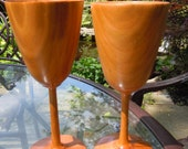 Hand Turned Goblets - Cherry