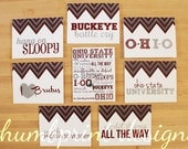 ohio state university college note cards or thank you cards