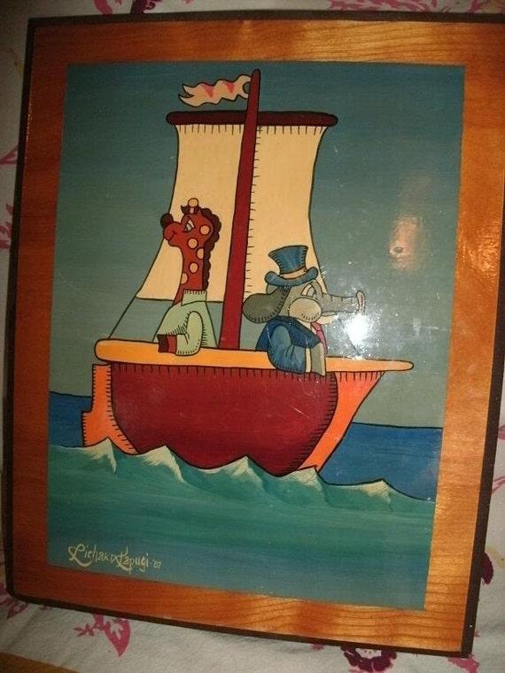 Little Voyage for children's room/NURSERY by RICHARD KAPUGI