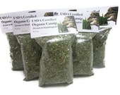 USDA Certified ORGANIC CATNIP - Grown in U.S.A.
