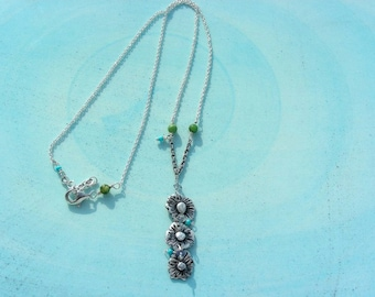 Daisy Patch Necklace