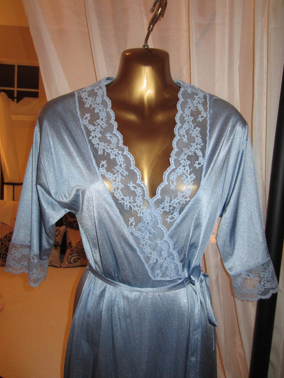 Vintage Peignoir Robe Dressing Gown by Gilead