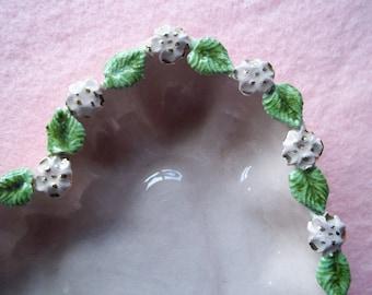 Handmade Vintage Ceramic Pink Heart