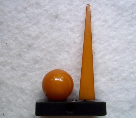 Fabulous Bakelite 1939 New York World's Fair Pencil Sharpener on hold for mls only