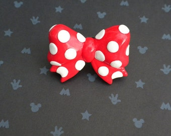 Minnie Mouse Bow Ring