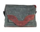 Messenger Bag (Waxed canvas)
