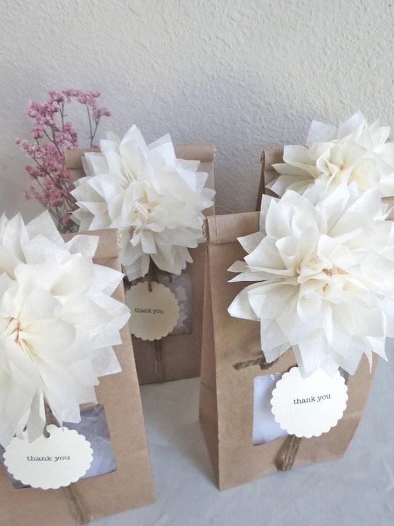 Pom Pom Party Favor Kit - Personalized - Wedding Favors - Party Favors - Bridal Shower - Wedding Favors