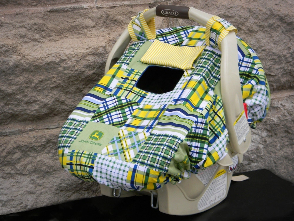 Baby Car Seat Cover Fleece Lined Fitted Infant Car Seat