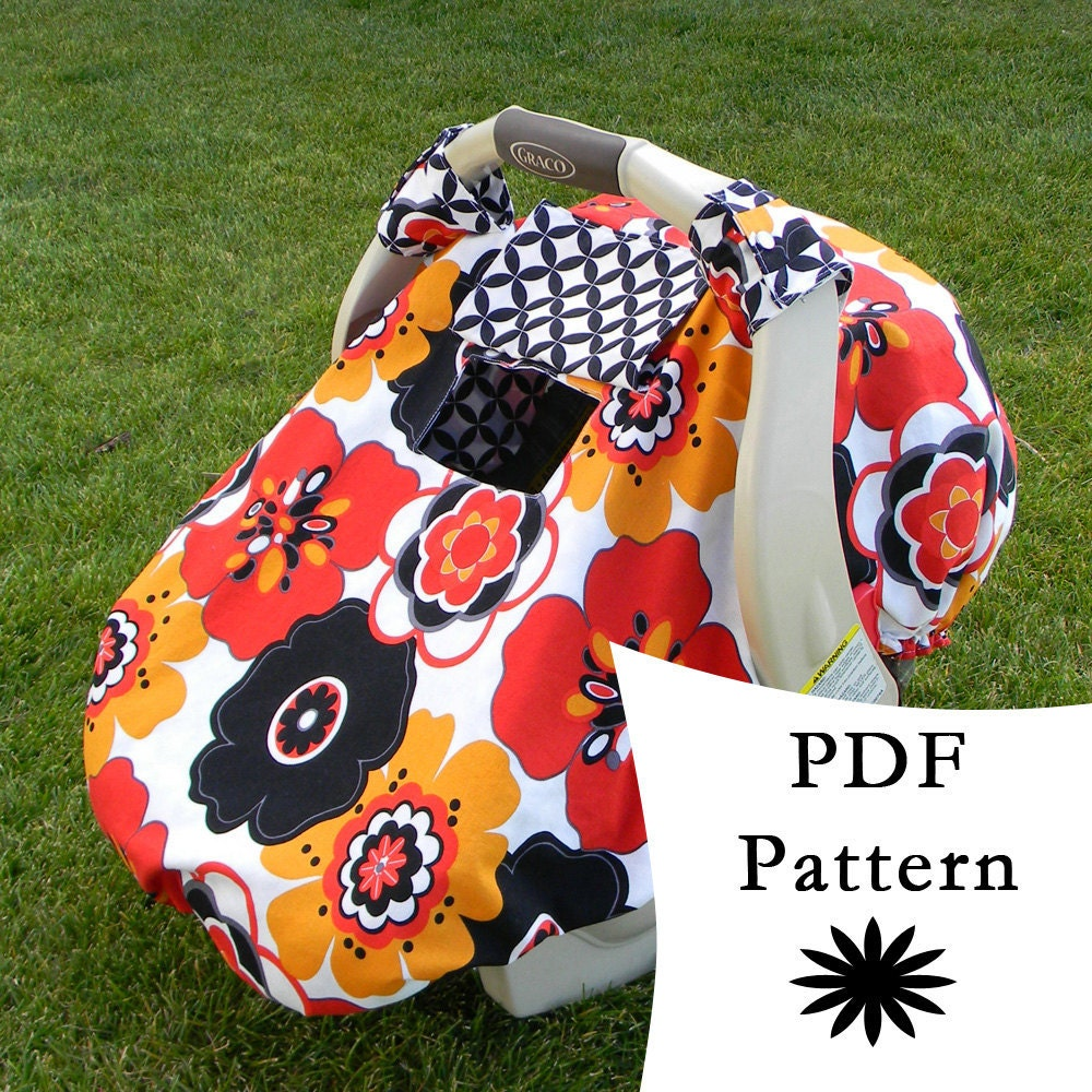 Fitted Car Seat Canopy Pattern