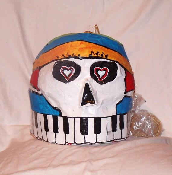 how to make a sugar skull pinata