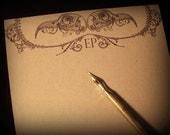 Masked Bird Skulls - Writing Paper (Set of 10)