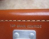 Vintage Polaroid 900 Electric Eye Camera, circa 1960's.  Beautiful leather case.