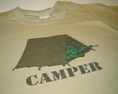 Gamer T shirt camper sniper shooting games kids youth teen men console computer tshirt geekery army screenprint birthday gift for son