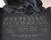 Zombie Hoodie Outbreak Response Team undead hooded sweatshirt dead sweater hoodie unisex clothing great gift for husband father son