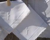 Vintage Monogrammed Set of 6 Napkins & Tablecloth