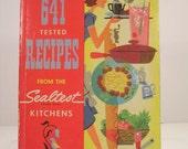 Vintage Sealtest Kitchens Cookbook 641 Tested Recipes 1954 Paperback