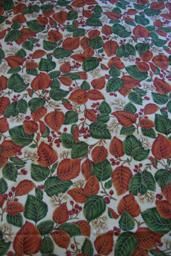 SALE TABLECLOTH FallThanksgiving Amish Free US Shipping Vintage Mint Condition