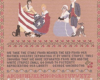 Betsey and The New Flag / A Patriot's Sampler
