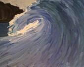 Wave print