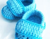 Baby boy Crochetnd Shoes (0-12 months)