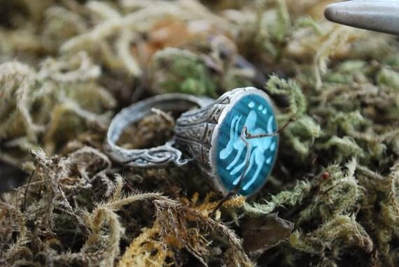 Zodiac Aries Tribal Ring