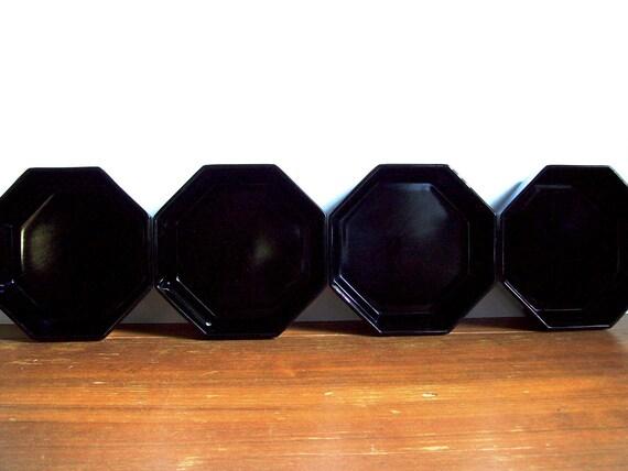 Black Octagon Bowls, Arcoroc Octime