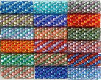 Woven Glass Bead Tube ... ... ... ... ... ... 6mm/o-2mm/i ... ... ... ... ... 12x08 * 819
