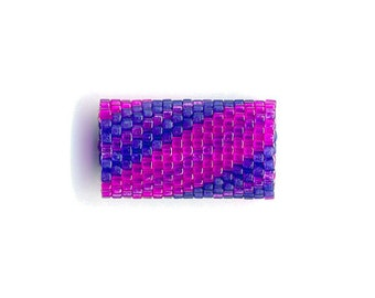 Woven Glass (Dread) Bead Tube ... ... ... ... 12mm/o-9mm/i ... ... ... ... ... ... ... 17x20 * 665
