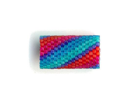 Woven Glass (Dread) Bead Tube 12mm/o-9mm/i ... ... ... ... ... ... ... ... ... ... ... 17x20 ... ... ... ... (9-25-400)