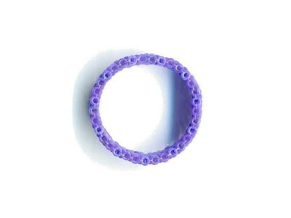 Woven Glass Bead Ring Size 4 * ... ... ... 18mm/o-15mm/i ... ... ... ... ... 06x33 * 309