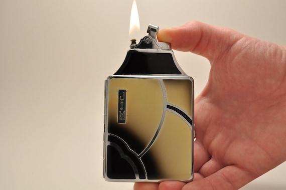 Art Deco Ronson De-Light Mastercase Art Metal Works Lighter