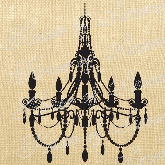 Paris French Chandelier Royal Vintage Download Graphic Image Art Transfer burlap tote tea towels Pillow French Gift Tag Digital Sheet 1007