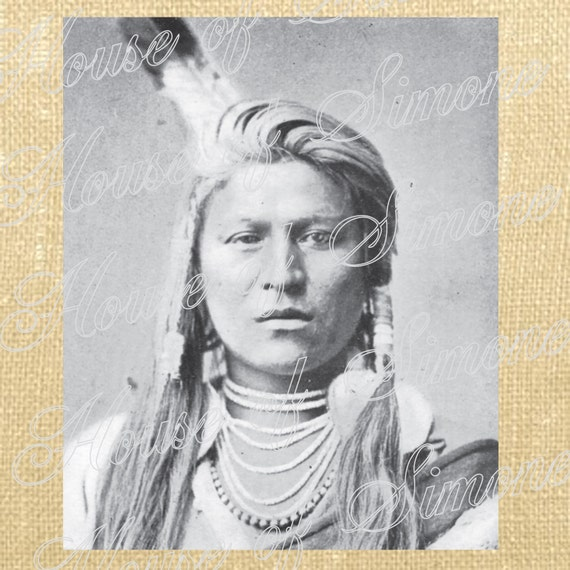 Indian Woman Lady Feather Tribe Native American Cowboy Download Graphic Image Transfer burlap tote towels Pillow Gift Tag Digital Sheet 1042