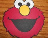 Sesame Street Elmo Diecuts- Set of 8