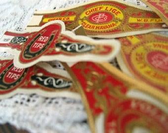 Vintage Cigar Bands