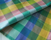Four Yards Taffeta Plaid Fabric
