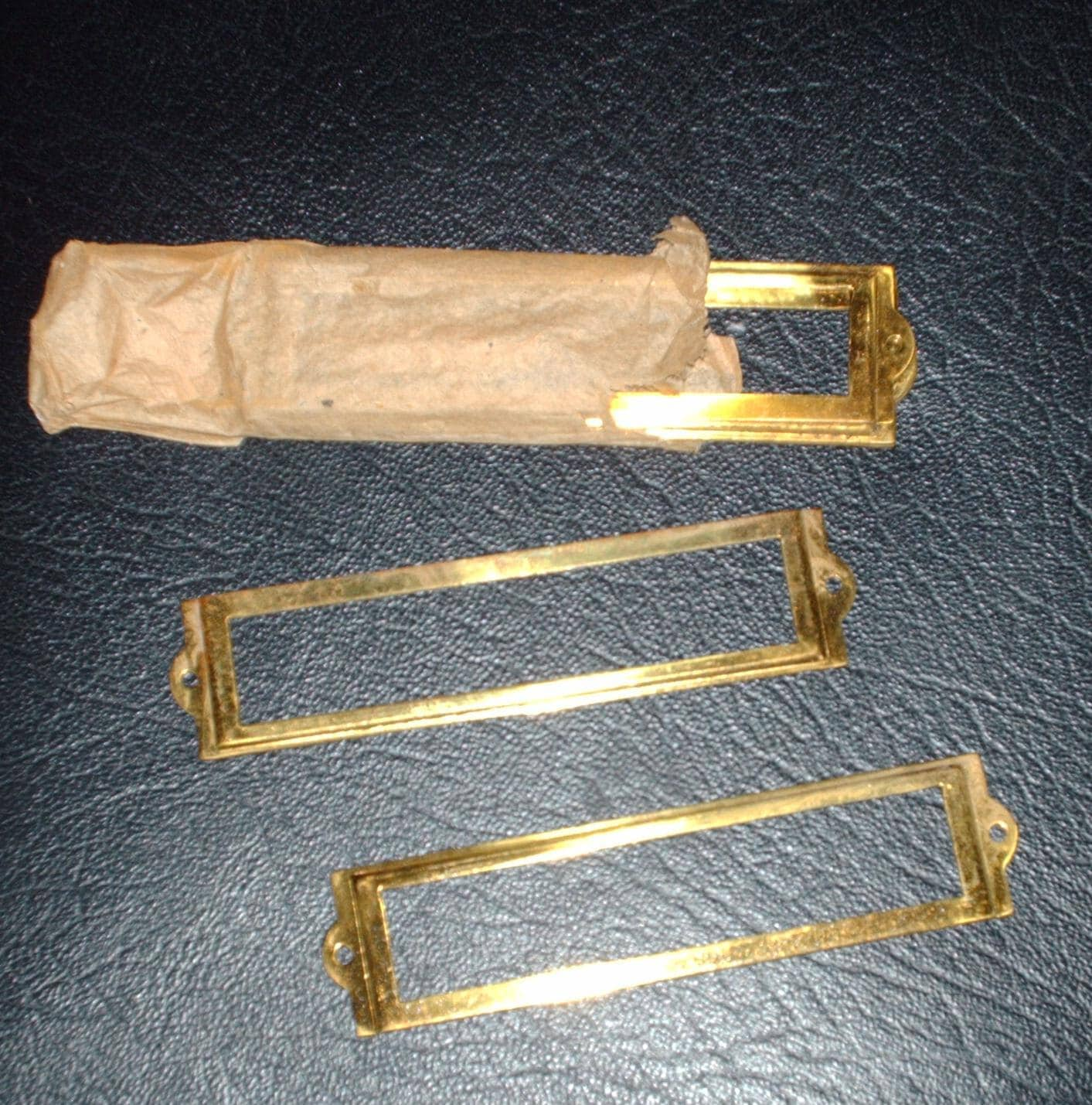 Brass Name Plate Holders - brass name plates