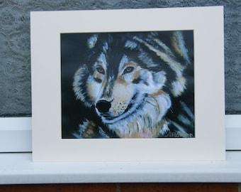 Fine Art Print, A Lone Wolf