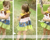 LILIANA Easy TWIRL dress - Pdf tutorial - Ebook - 12M - 8Y