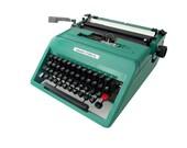 Manual Typewriter SALE Olivetti Studio 45, Emerald Green