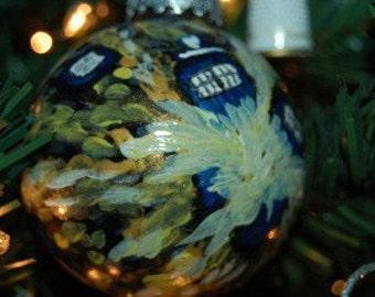 Doctor Who Van Gogh Tardis Ornament