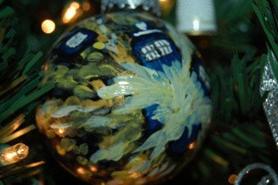 Doctor Who-Van Gogh Ornament