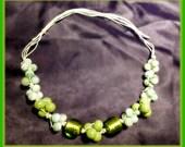 Apple Green Necklace / Collana Verde Mela