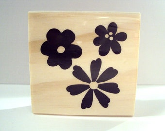 My Lil' Garden Wooden Mounted Rubber Stamping Block DIY cards, scrapbooking, tags, Greeting Cards, and Scrapbooking