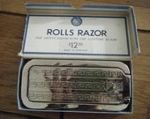Vintage Rolls Razor Imperial  2 Self Sharpening Orig. Box with Inserts England