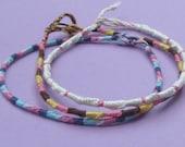 Christmas in July Sale - Custom Swirl Bracelet or Anklet