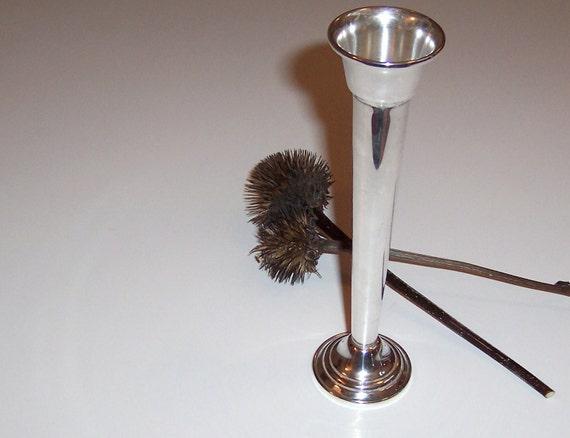 Bud Vase ON SALE Sterling Silver Gorham 6 1/2 inches Rose Vase Single Stem